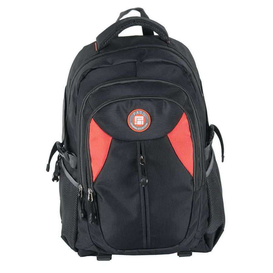 Рюкзак детский PASO Travel black orange