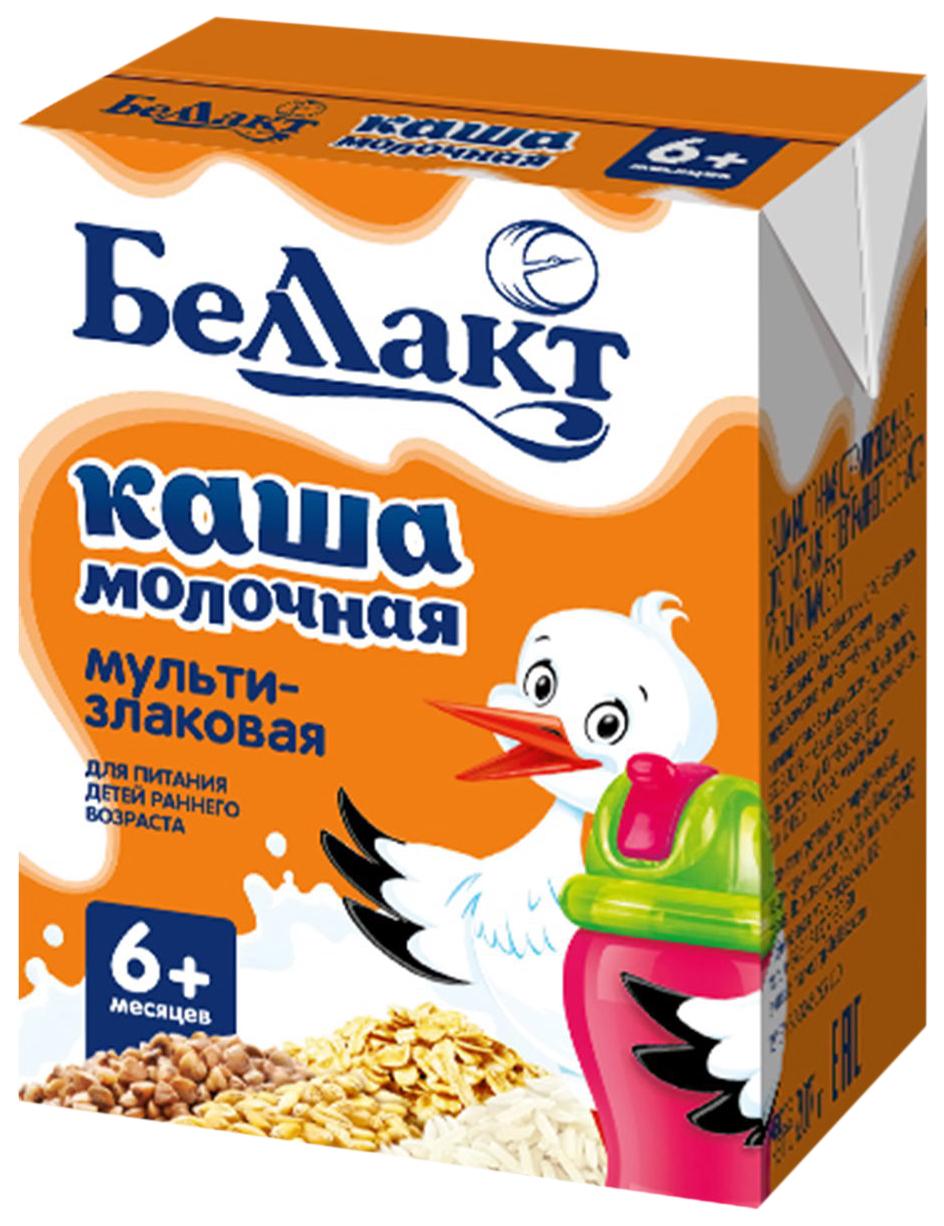 Каша молочная Беллакт стерилизованная для питания детей раннего возраста рисовая 207 гр