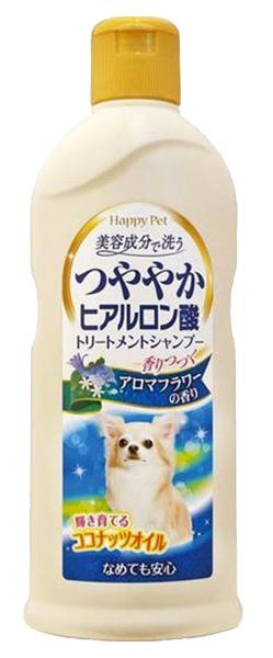 Шампунь для кошек и собак Japan Premium Pet Organic для сияющей шерсти, букетный, 350 мл