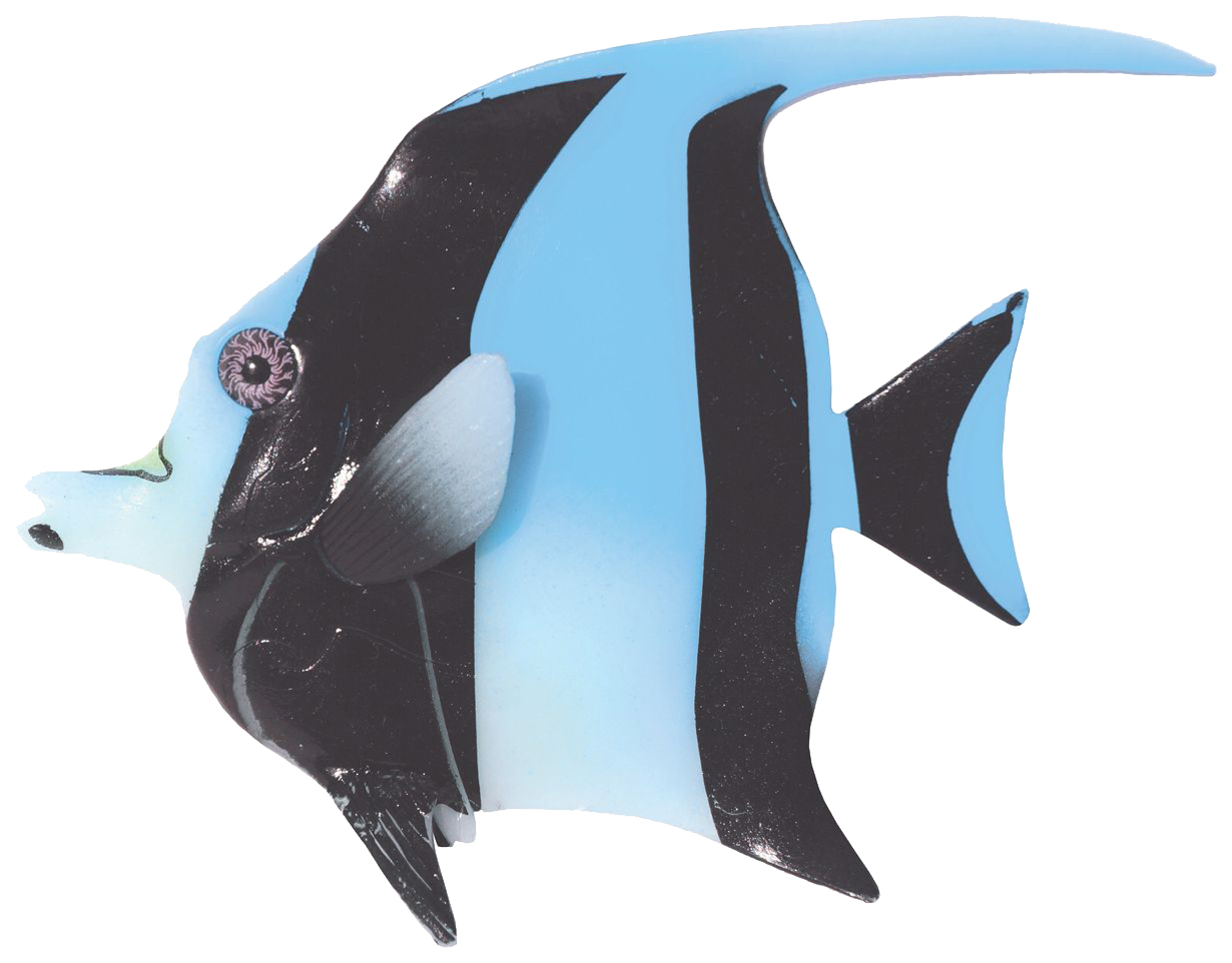 Декорация для аквариума JELLY FISH Мавританская рыбка