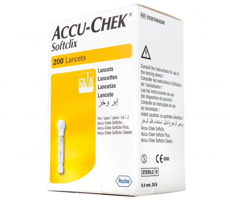Ланцеты ROCHE Accu Chek Софткликс 200 шт.