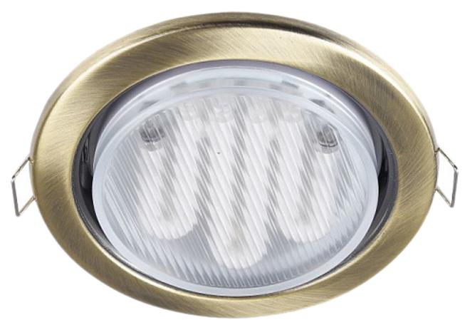 Встраиваемый светильник Maytoni Metal DL293-01-BZ Бронза