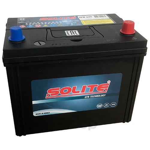 Аккумулятор автомобильный Solite EFBS95 START-STOP 80A/ч 790А полярность обратная фото