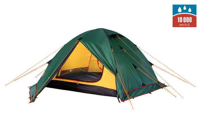 Палатка Alexika Rondo Plus двухместная зеленая