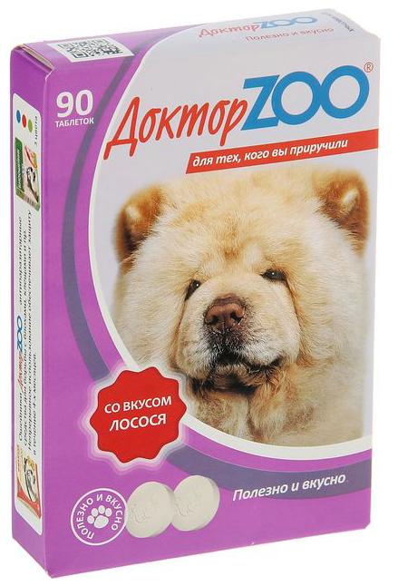 Витаминный комплекс для собак Доктор ZOO
