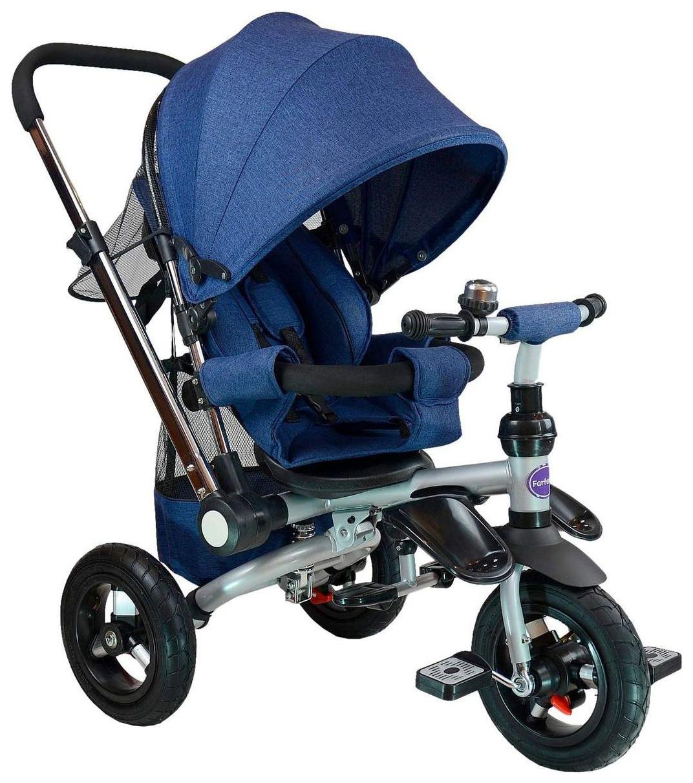 Купить Велосипед трехколесный Farfello TSTX011 синий, Детские велосипеды-коляски