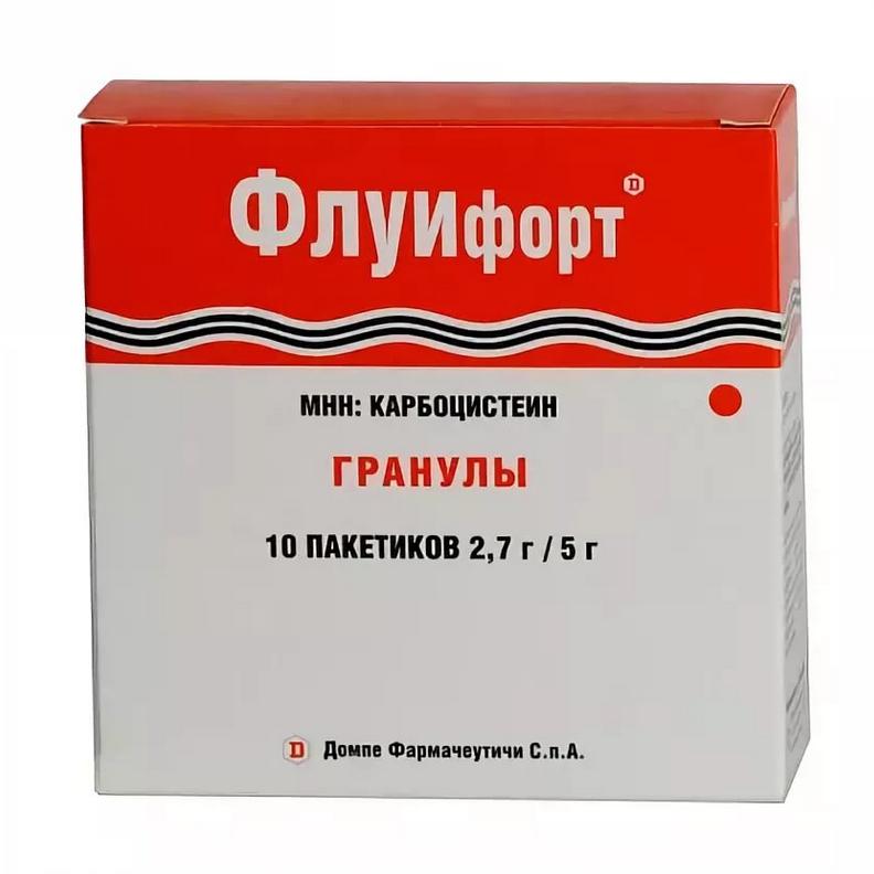Флуифорт гранулы 2.7 г/5 г 10 шт.