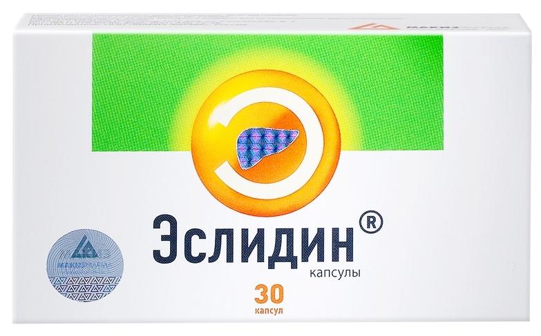 Купить Эслидин капсулы 30 шт., Stada