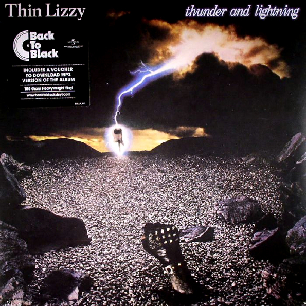 Thin Lizzy Thunder And Lightning (LP)