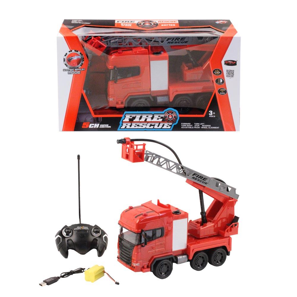 Купить Машинка радиоуправляемая Jumbo Пожарная JB1100296, SY Cars, Радиоуправляемая спецтехника
