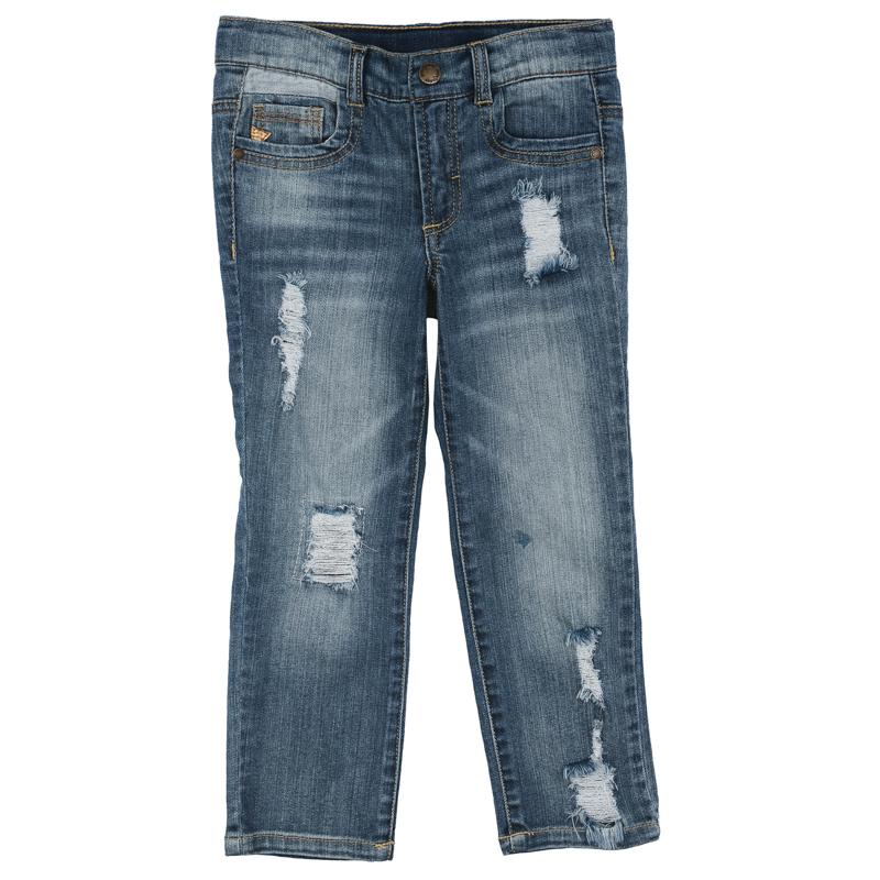 Купить Брюки для мальчика Playtoday 171156 синий р.98, Play Today, Детские джинсы