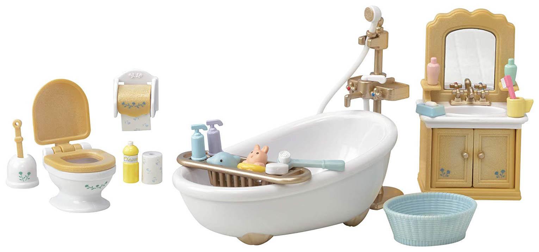 Купить Набор игровой Sylvanian Families Ванная комната и туалет, Игровые наборы