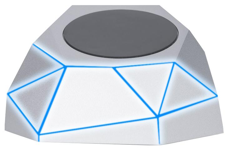 Беспроводное зарядное устройство Xoopar Geo Dock Grey