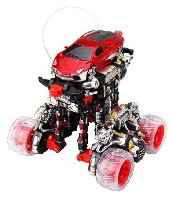 Радиоуправляемая машинка машина-перевертыш HuangBo Toys