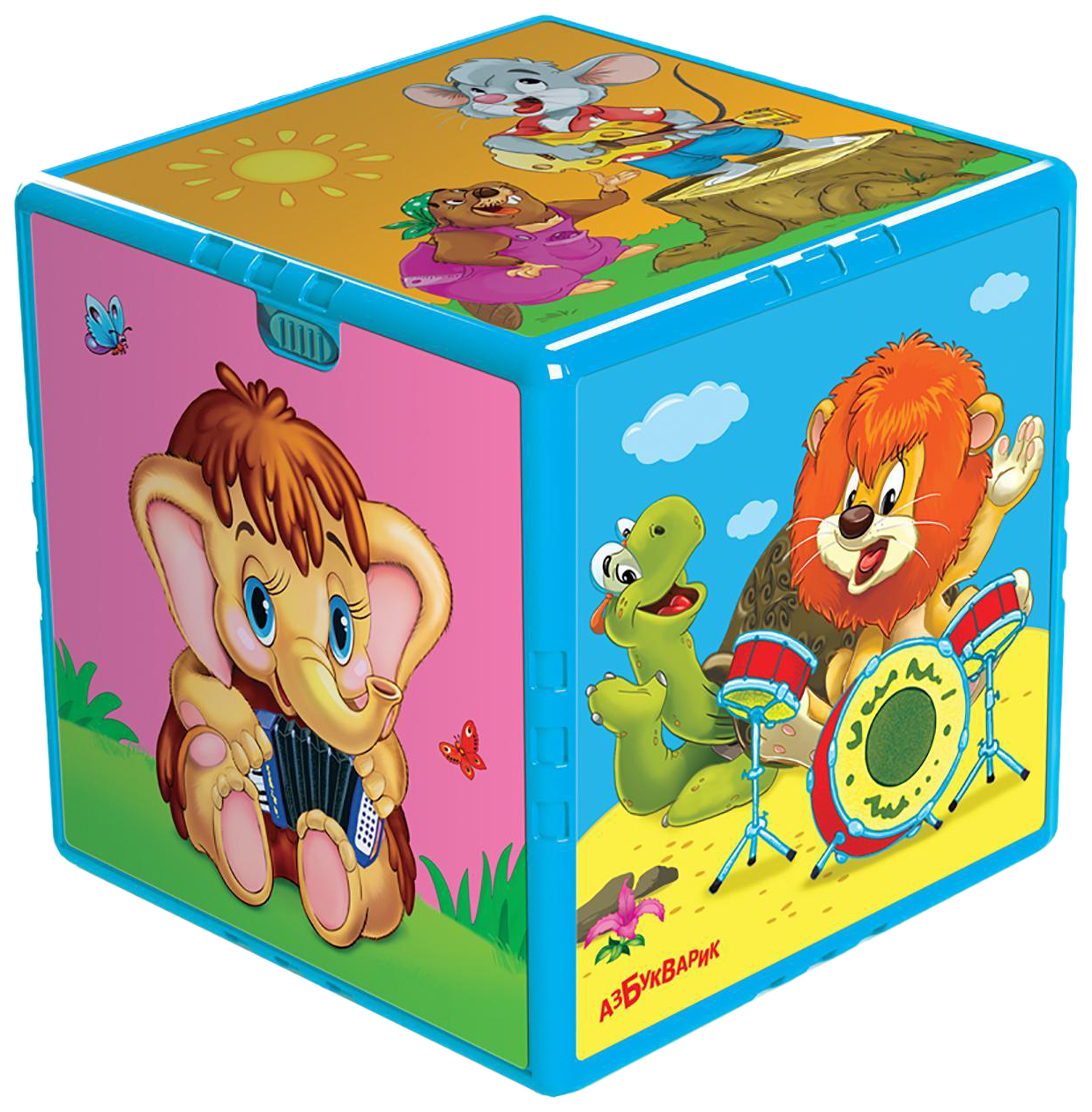 Развивающая игрушка Азбукварик Говорящий кубик Любимые мультяшки 202-2