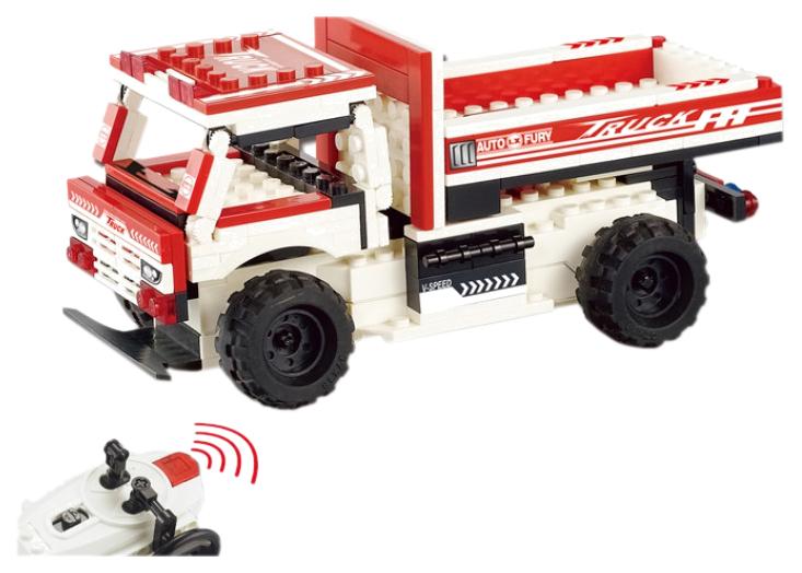 Радиоуправляемый конструктор грузовик Lixiang Toys LXY11A GCY