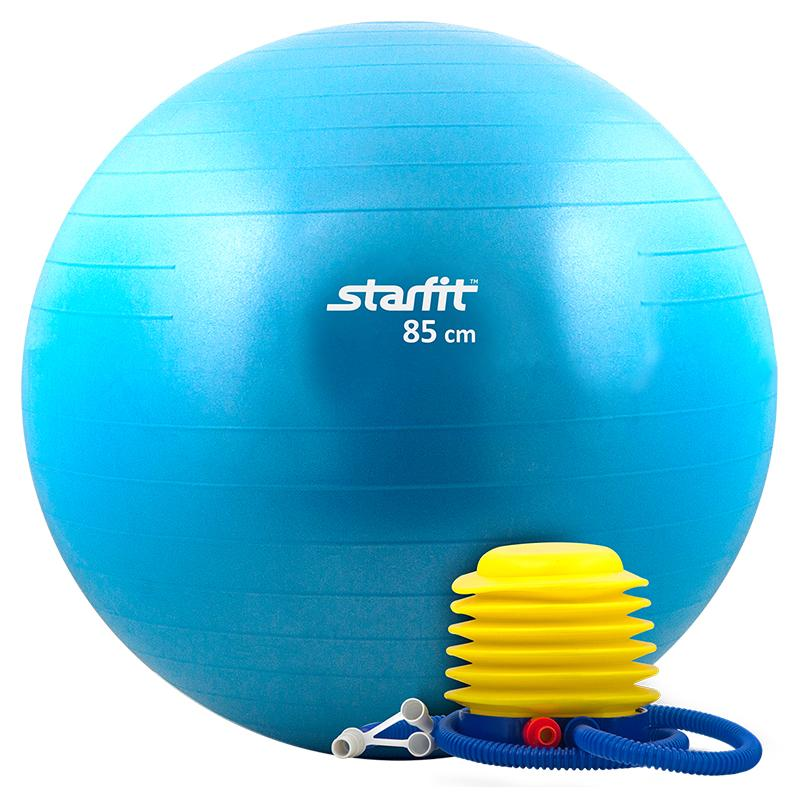 Гимнастический мяч StarFit GB 102 85 см синий