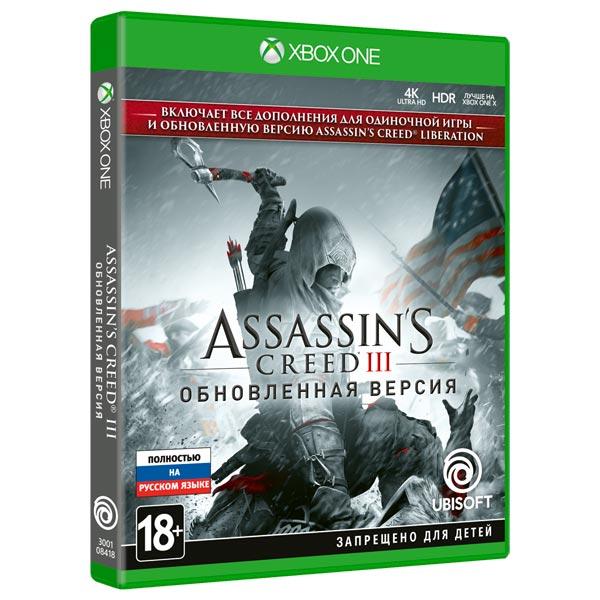 Игра Assassin's Creed 3 + Assassin's Creed Liberation Remaster для Xbox One фото