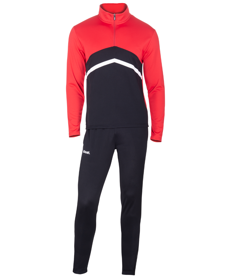 Спортивный костюм Jogel JPS-4301-621, черный/красный/белый, L INT