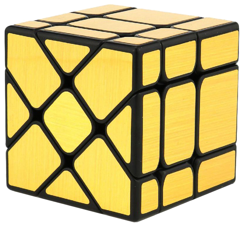 Головоломка PlayLab Зеркальный Кубик Фишер Золото