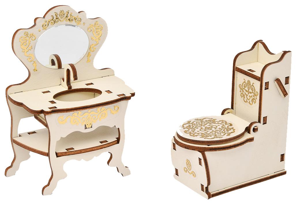 Мебель для кукол Одним прекрасным утром Туалетная комната 59797