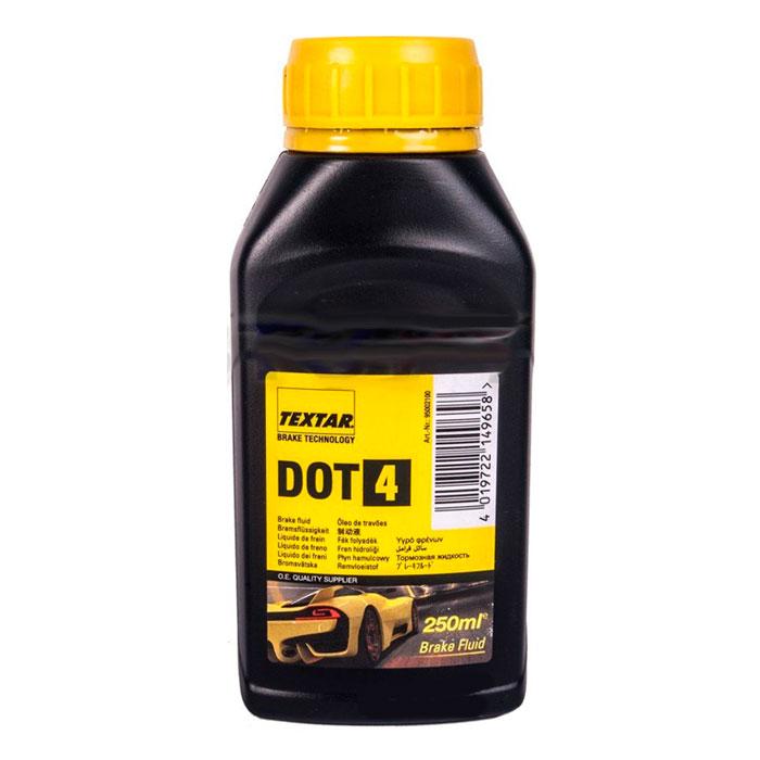 Тормозная жидкость Textar DOT4 0,25л. 95002100