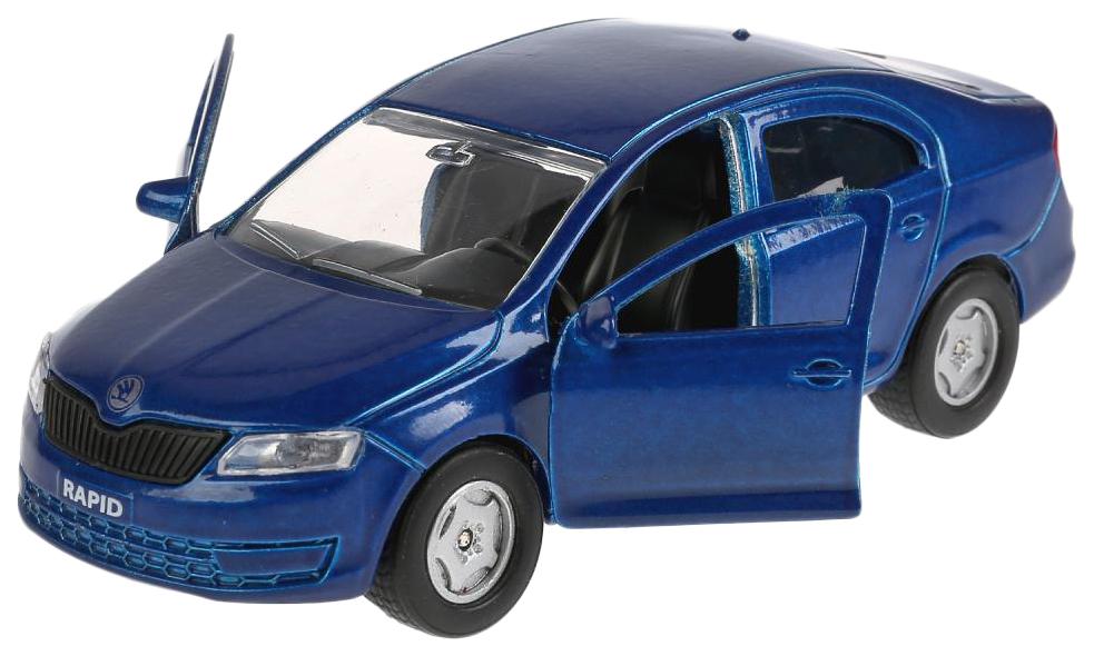 Купить Коллекционная модель Технопарк Skoda Rapid SB-18-22-SR-N(BU)-WB, Коллекционные модели