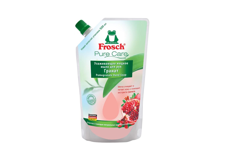 Жидкое мыло Frosch Гранат 500 мл (запасной блок)