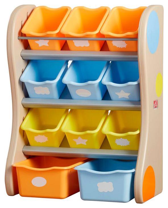 Купить Центр хранения Step 2 желтый, Ящики для хранения игрушек