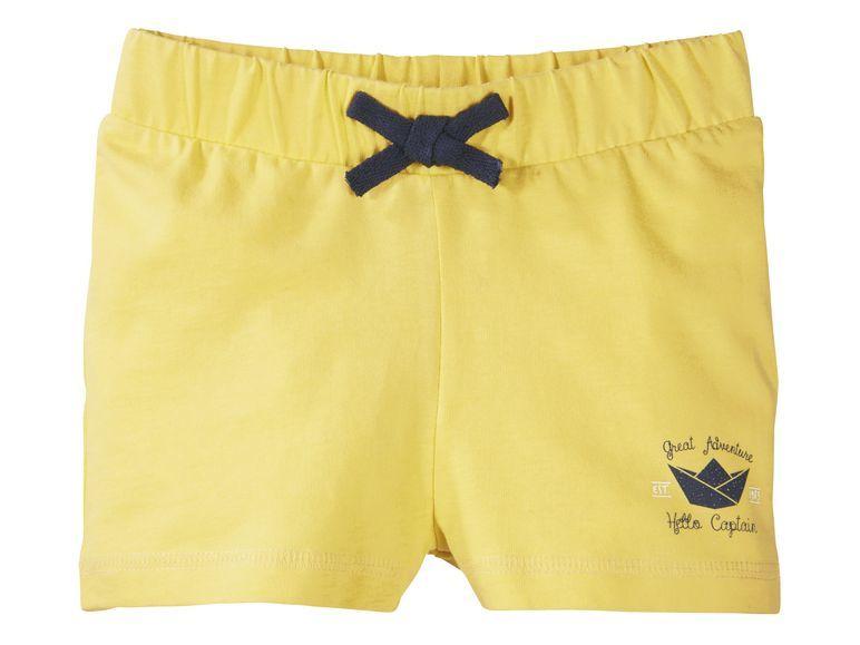 Купить Шорты для девочки Lupilu р.110-116 желтый, Детские брюки и шорты