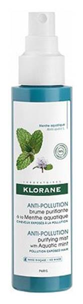 Купить Дымка для волос Klorane Menthe Aquatique Brume purifiante 100 мл