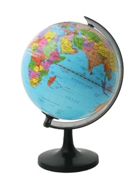 Купить Глобус политический с подсветкой 20 см ROTONDO, Глобусы