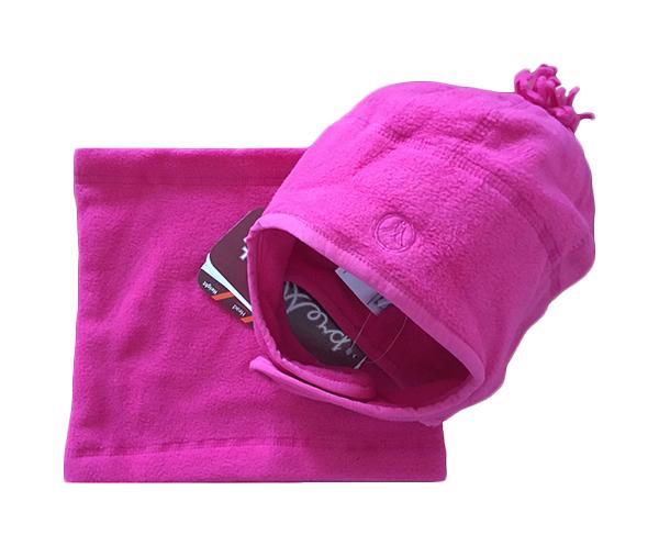 Купить Шапка шарф-снуд pink 6x-10 Premont Wp81901, Детские комплекты шапка, шарф и варежки