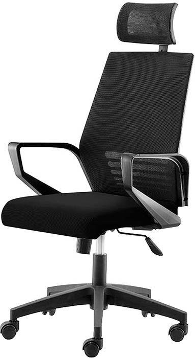 Офисное кресло Эрго-Black черный