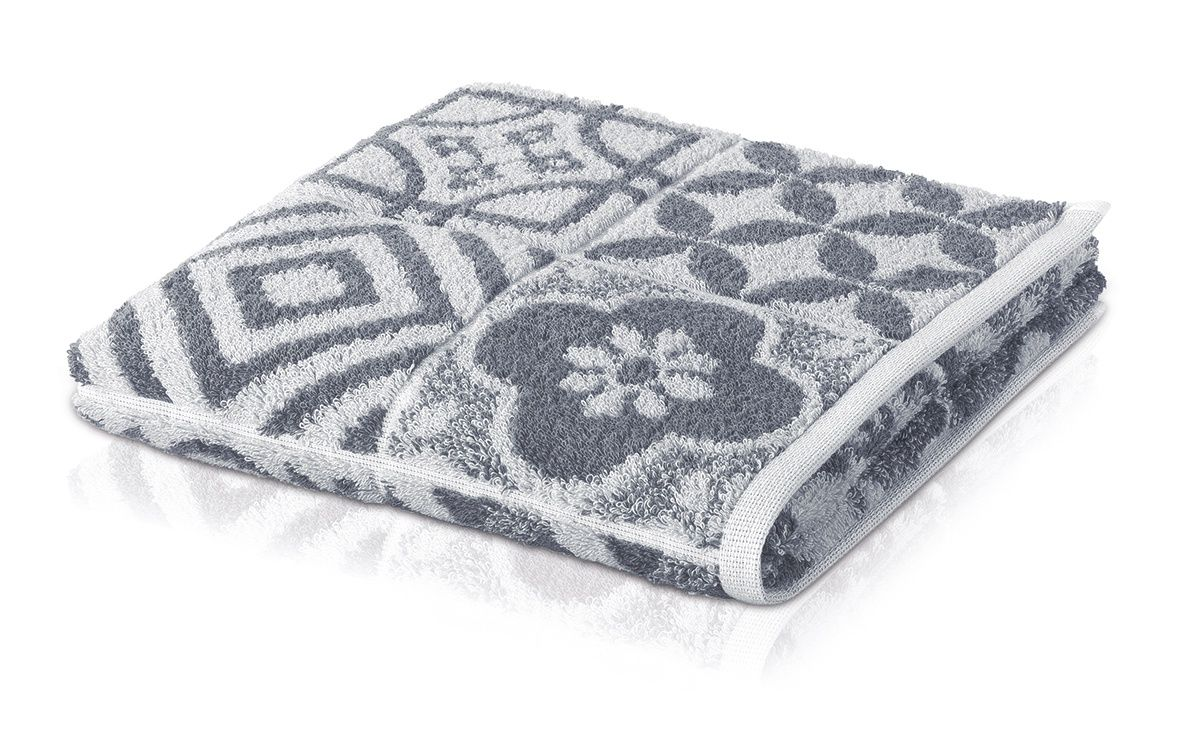 Банное полотенце, полотенце универсальное Move BUENOS AIRES белый, серый фото