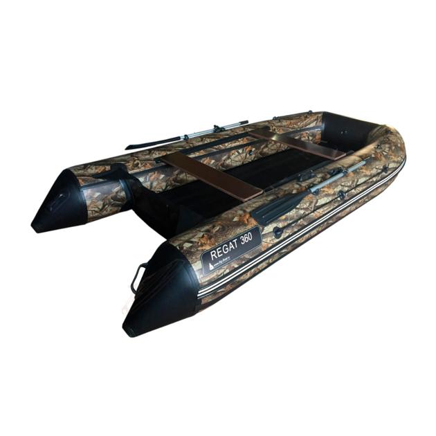 Надувная лодка Regat 360 надувное дно (камуфляж)
