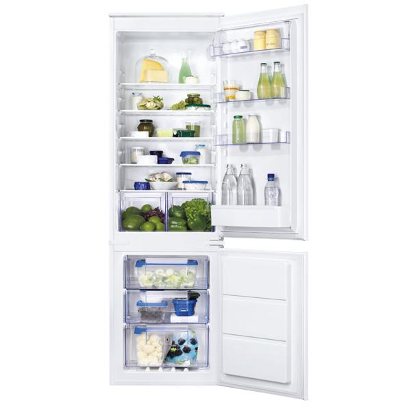 Встраиваемый холодильник Zanussi ZBB928651S White