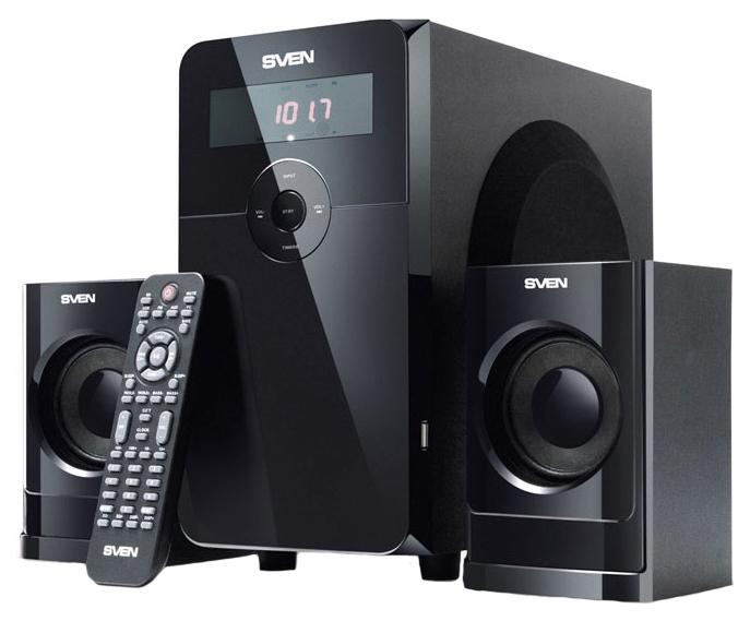 Колонки компьютерные 2.1 Sven MS 2000 Черный