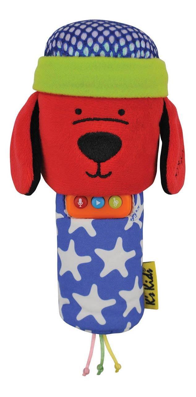 Мягкая музыкальная игрушка-караоке K's Kids Патрик