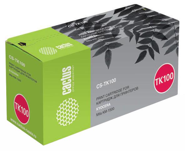 Картридж для лазерного принтера Cactus CS-TK100 черный