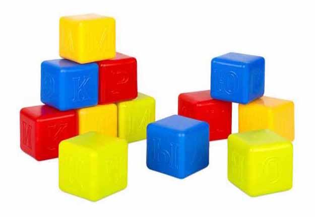 Купить Росигрушка Кубики Росигрушка Азбука 12 шт 93767, Развивающие кубики