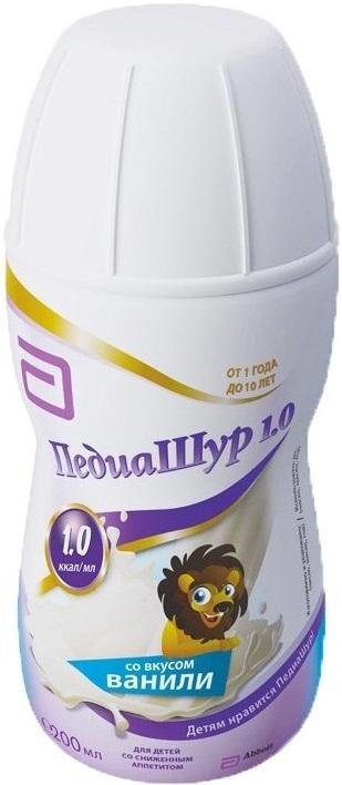 Смесь Малоежка Pediasure со вкусом ванили