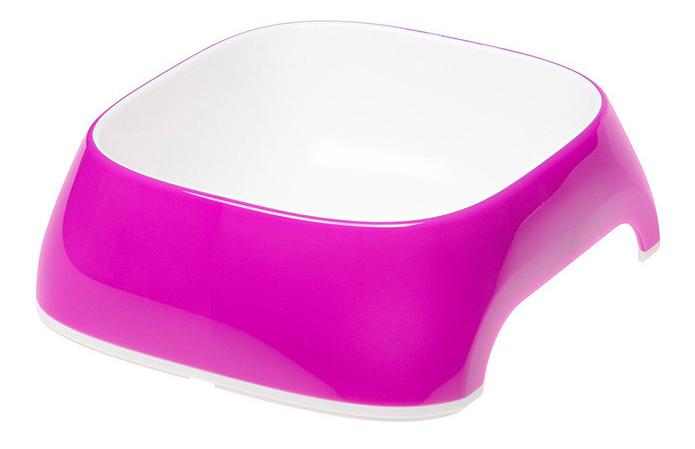 Одинарная миска для кошек Ferplast, пластик, фиолетовый,