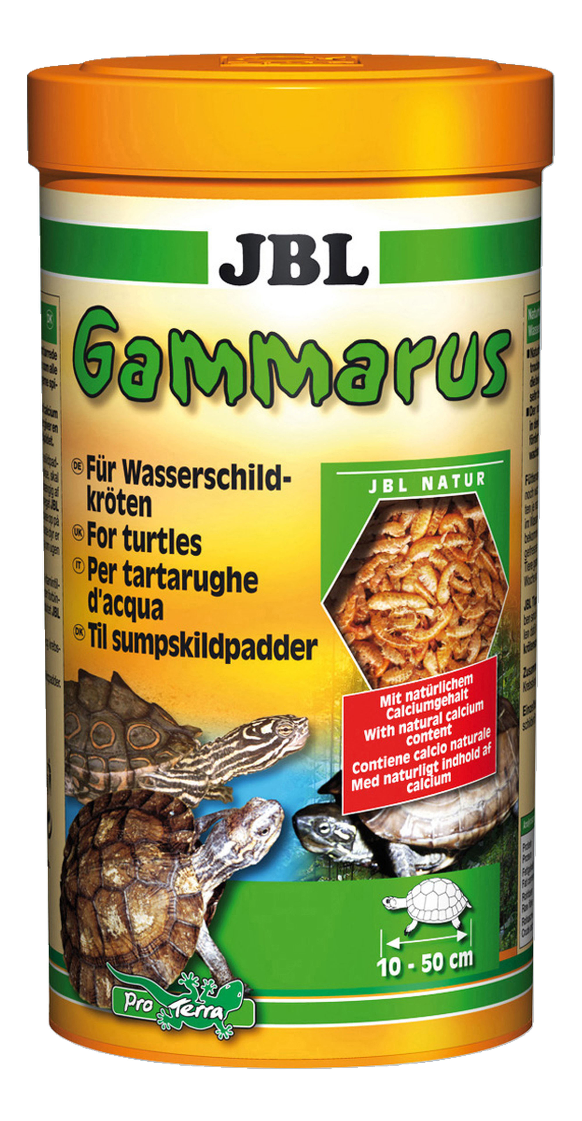 Корм для рептилий JBL Gammarus для водных