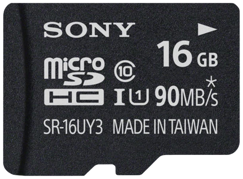 Карта памяти Sony Micro SDHC SR-16UY3A 16GB