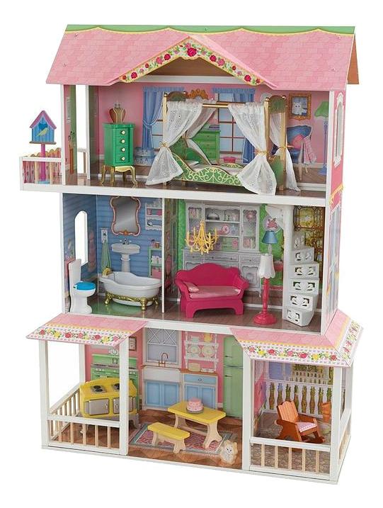 Домик KidKraft для Barbie Карамельная Саванна 65851_KE