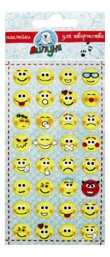 Наклейка декоративная для детской комнаты Липуня Алфавит смайлики
