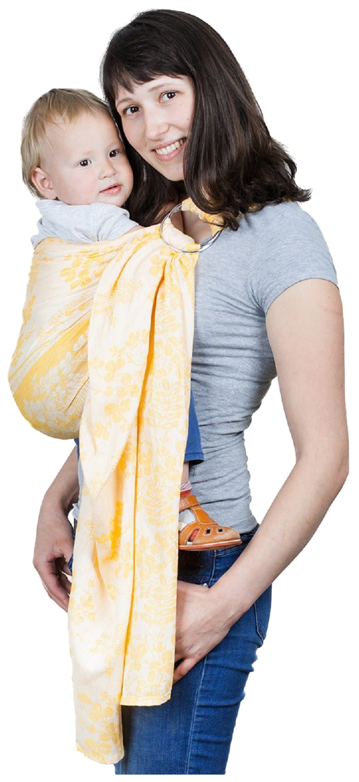 Купить Слинг Чудо-Чадо Герба Рыжий СШЛ01-001, Слинги для новорожденного