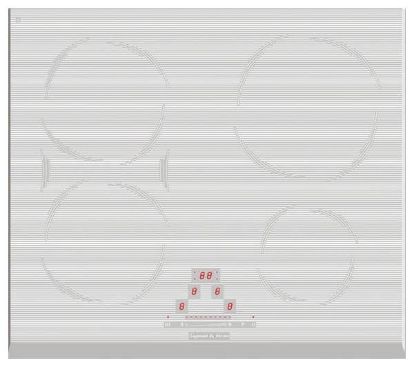Встраиваемая варочная панель индукционная Zigmund & Shtain CIS 189.60 WX White фото