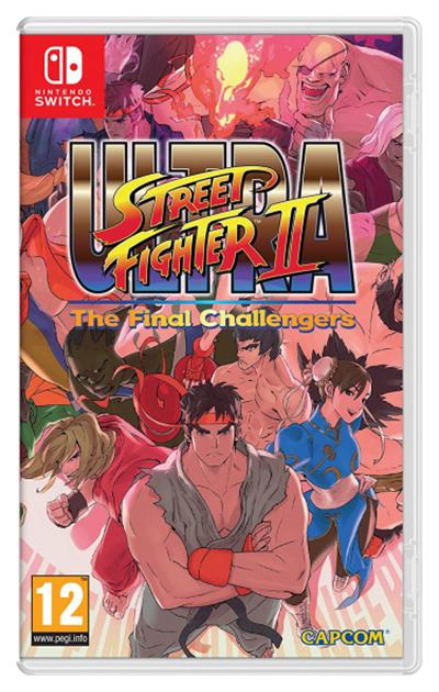 Игра Ultra Street Fighter II: The Final Challengers для Nintendo Switch Capcom